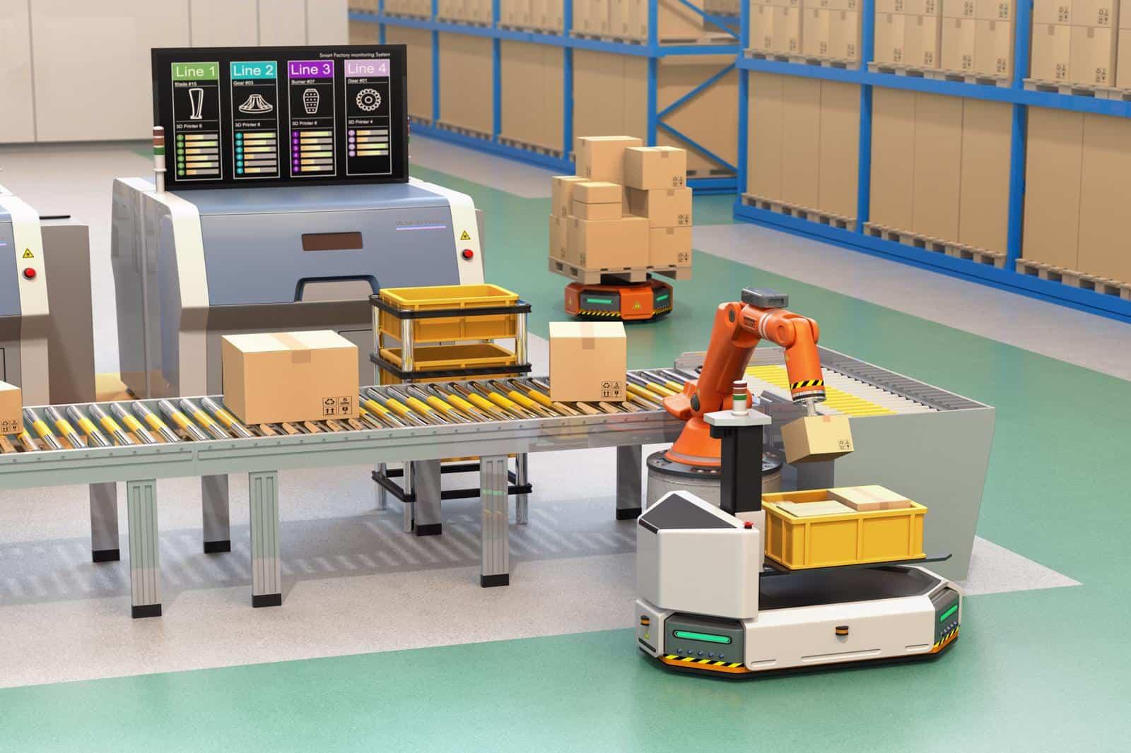 AGV-Factory-Automation-ROSTEKCOMPANY