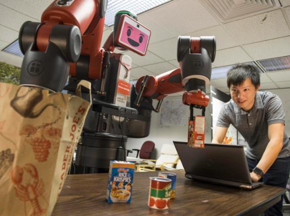 dạy học robot công nghiệp